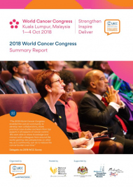 2018 World Cancer Congress Summary Report