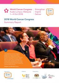 2018 World Cancer Congress Summary Report