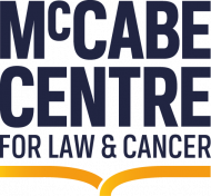 McCabe Centre for Law and Cancer logo