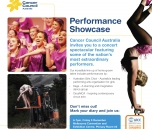 Showcase performance