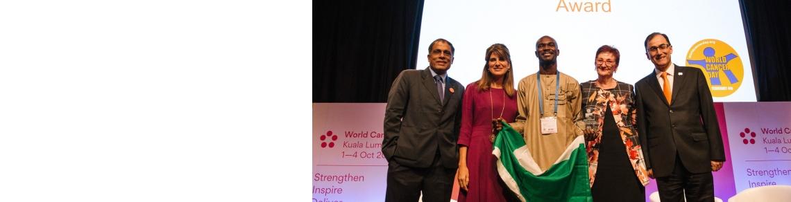 WCD Spirit Award - 2018 WCC