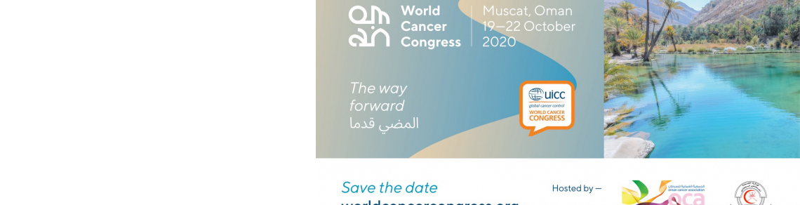 202 World Cancer Congress - Save the date