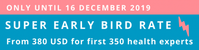 Super early bird rate promotion banner